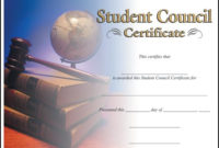 Rising Stars Online Catalog – Certificates | Certificate for Student Council Certificate Template