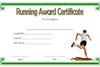Running Achievement Certificate Template Free 4 In 2020 for Unique Running Certificate Templates