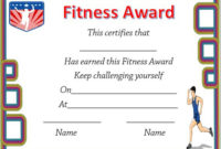 Running Certificate Templates : 20+ Free Editable Word in Unique Physical Fitness Certificate Template Editable