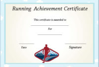 Running Certificate Templates : 20+ Free Editable Word intended for Running Certificate Templates 10 Fun Sports Designs