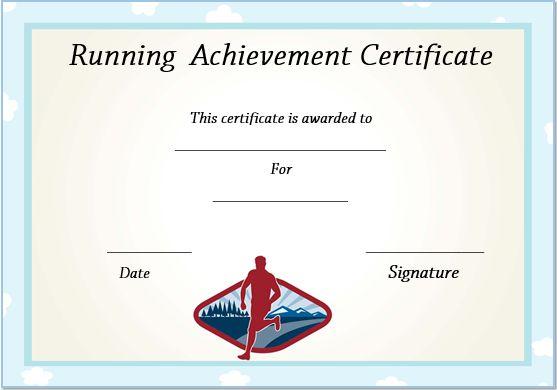 Running Certificate Templates : 20+ Free Editable Word with regard to Best Editable Running Certificate