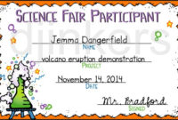 Science Fair Participant | Clipart Panda – Free Clipart Images for Science Fair Certificate Templates