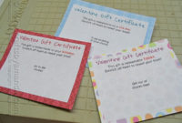 Scratch Off Valentine Gift Certificates: Suprise Your Valentine! with Valentine Gift Certificates Free 7 Designs