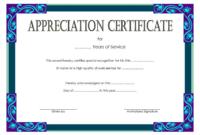 Service Certificate Template Free [11+ Top Ideas] inside Years Of Service Certificate Template Free 11 Ideas