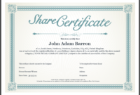 Share Certificate Template Companies House (1) – Templates pertaining to Free 10 Certificate Of Stock Template Ideas