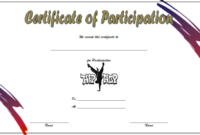 Simple Hip Hop Certificate Template Free (Participation) Di 2020 regarding Fresh Hip Hop Dance Certificate Templates