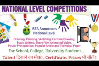 Slogan Writing, Poster Making & Essay Writing Contest On intended for Unique Essay Writing Competition Certificate 9 Designs