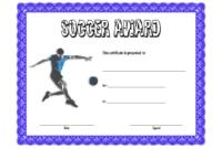 Soccer Award Certificate Template Free 4 In 2020 | Awards pertaining to Soccer Mvp Certificate Template