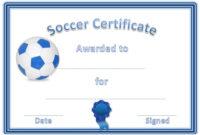 Soccer Award Certificates | Soccer Awards, Soccer, Award with regard to Best Soccer Award Certificate Template