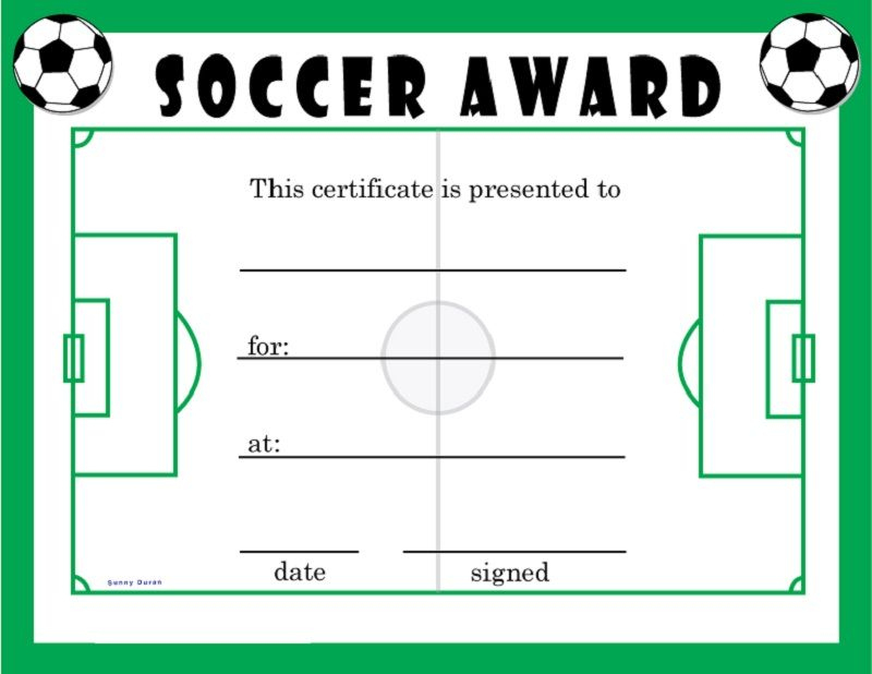 Soccer Award Certificates   Soccer Awards, Soccer Coaching Pertaining To Soccer Award Certificate Template