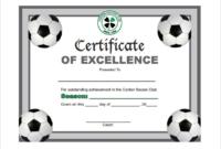 Soccer Certificate Template Free (12) – Templates Example with regard to Soccer Certificate Template Free 21 Ideas