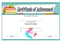 Social Studies Certificate Template 8 Free | Social Studies intended for Social Studies Certificate