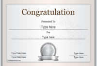 Special Certificate – Congratulations Certificate intended for 9 Worlds Best Mom Certificate Templates Free