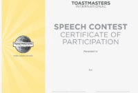Speech Contest Certificate Template Free Participant pertaining to Fresh Tattoo Certificates Top 7 Cool Free Templates