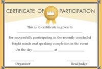 Speech Contest Winner Certificate Template: 10 Free Pdf For 10 Science Fair Winner Certificate Template Ideas