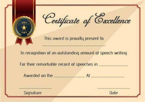 Speech Contest Winner Certificate Template: 10 Free Pdf within Contest Winner Certificate Template