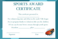 Sports Award Certificate Templates – Template Sumo throughout Athletic Award Certificate Template