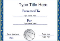 Sports Certificates – Netball Certificate Template inside Fresh Netball Achievement Certificate Editable Templates