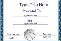 Sports Certificates – Netball Certificate Template with Unique Netball Certificate Templates