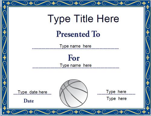 Sports Certificates - Netball Certificate Template With Unique Netball Certificate Templates