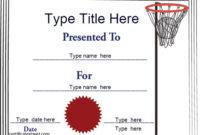 Sports Certificates – Netball Tempalate | Certificatestreet in Fresh Netball Certificate
