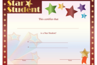 Star Student Certificate Template Download Printable Pdf for Star Student Certificate Template