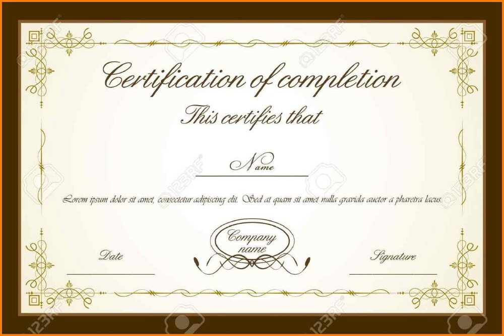 Stock Certificate Template Word Ideas Templates Free Inside Free 10 Certificate Of Stock Template Ideas