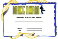 Street Dance Certificate Template Free In 2020 | Certificate throughout Fresh Hip Hop Dance Certificate Templates