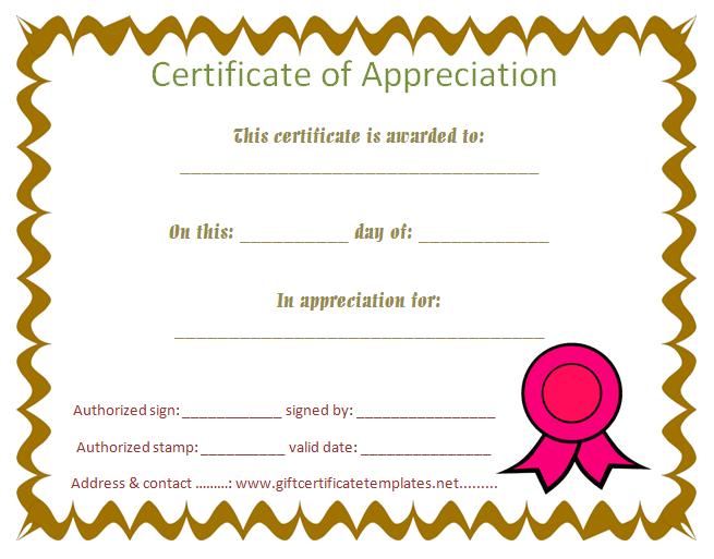 Student Certificate Of Appreciation – Free Certificate Inside Fresh 10 Science Fair Winner Certificate Template Ideas