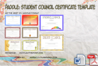 Student Council Certificate Template Free Download In 2020 with Physical Education Certificate 8 Template Designs