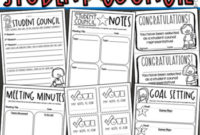Student Council Printables   Teachers Pay Teachers throughout Student Council Certificate Template 8 Ideas Free