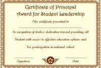 Student Leadership Certificate: 10+ Best Student Leadership in Student Leadership Certificate Template Ideas