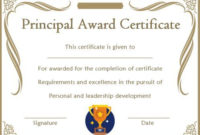 Student Leadership Certificate: 10+ Best Student Leadership intended for Leadership Award Certificate Template