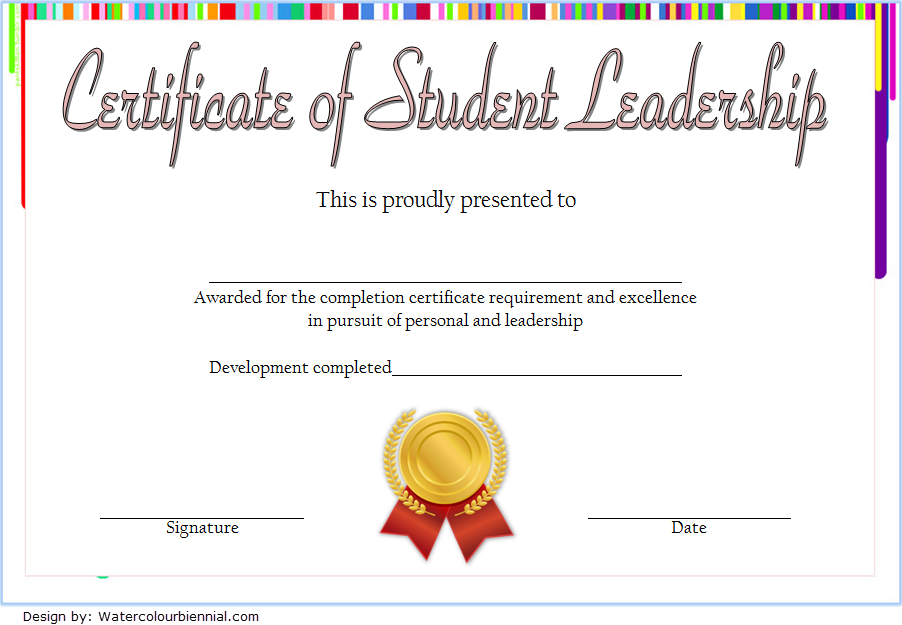 Student Leadership Certificate Template 8 Free throughout Unique Student Council Certificate Template 8 Ideas Free