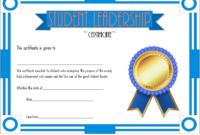 Student Leadership Certificate Template Free [10+ Ideas] with Student Council Certificate Template 8 Ideas Free