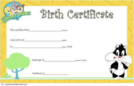 Stuffed Animal Birth Certificate Template: 7+ Ideas Free 2 intended for Stuffed Animal Birth Certificate Template 7 Ideas