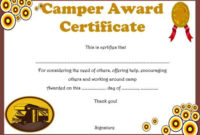 Summer Camp Certificate Templates: 15+ Templates To pertaining to Certificate For Summer Camp Free Templates 2020
