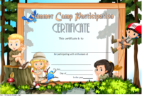 Summer Camp Participation Certificate Free Printable 3 Di 2020 with regard to Certificate For Summer Camp Free Templates 2020