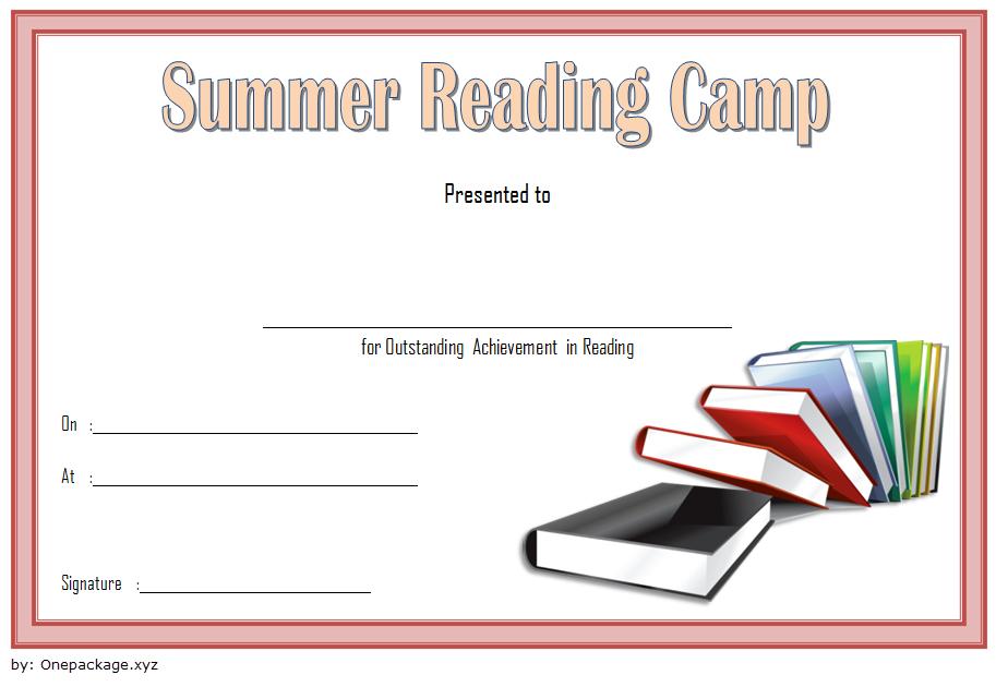 Summer Reading Certificate Template Free 2 Di 2020 intended for Summer Reading Certificate Printable