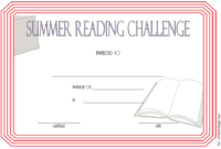 Summer Reading Challenge Certificate Free Printable 2 Di 2020 inside Summer Reading Certificate Printable