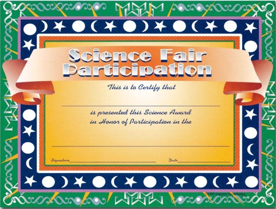 Super Science Fair Projects | Science Fair, Science Fair Intended For 10 Science Fair Winner Certificate Template Ideas