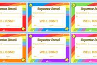 Superstar Certificates – Primary Resources (Teacher Made) regarding Good Behaviour Certificate Template 10 Kids Awards