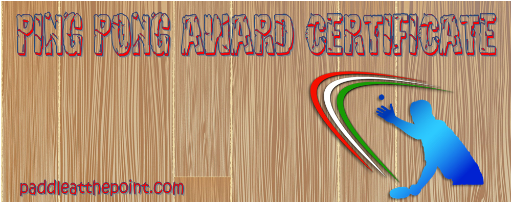 Table Tennis Certificate Template Free - 10+ Cool Designs With Table Tennis Certificate Templates Free 10 Designs