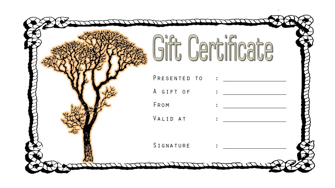 Tattoo Gift Certificate Template Free 1 With Fresh Tattoo Certificates Top 7 Cool Free Templates