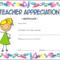 Teacher Appreciation Certificate Free Printable 5 | Teacher pertaining to Fresh Teacher Appreciation Certificate Free Printable