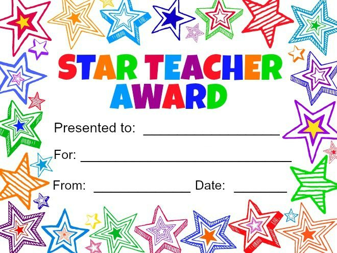 Teacher Gift In A Jar With Printable | Teacher Awards With Regard To Teacher Appreciation Certificate Free Printable