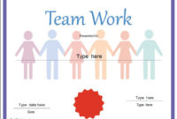 Teamwork-Award | Awards Certificates Template, Classroom inside Unique Free Teamwork Certificate Templates