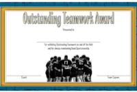 Teamwork Award Certificate Template Free In 2020 | Awards in Free Teamwork Certificate Templates
