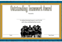 Teamwork Award Certificate Template Free In 2020 | Awards intended for Best Free Teamwork Certificate Templates 10 Team Awards