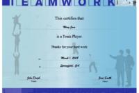 Teamwork Certificate Printable Certificate in Unique Free Teamwork Certificate Templates
